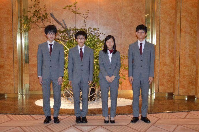 IBO Challenge 2020 結団式での日本代表選手の様子